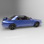 Skyline GTR (for 3D Studio Max)