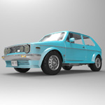 Volkswagen Golf I GTI (for 3D Studio Max)
