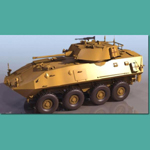 Click to see information about the 'LAV 25 Piranha (for 3D Studio Max)'.