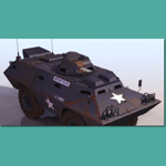 Click to see information about the 'V100 Armoured Patrol Car (for 3D Studio Max)'.