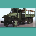 Click to see information about the 'US Army Truck (WWII) (for 3D Studio Max)'.