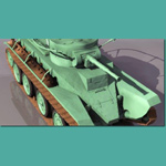 Click to see information about the 'BT-5 Soviet Cavalry Tank (for 3D Studio Max)'.