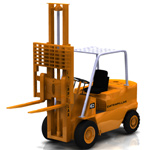 Click to see information about the 'Elevator Truck Caterpillar (for Vue)'.