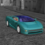 Jaguar XJ 220 (for Poser)