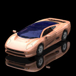 Click to see information about the 'Jaguar XJ 220 (for Poser)'.