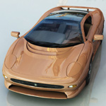 Click to see information about the 'Jaguar XJ 220 (for Vue)'.