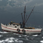 Shrimp Boat (for Poser)
