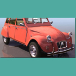 Click to see information about the 'Citroen 2CV (for 3D Studio Max)'.