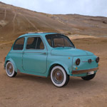 Click to see information about the 'Fiat 500 (for 3D Studio Max)'.