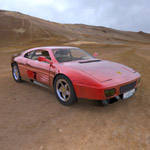 Click to see information about the 'Ferrari 348T (for 3D Studio Max)'.
