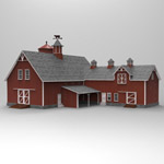 Barn (for 3D Studio Max)
