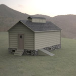Click to see information about the 'Ice House (for 3D Studio Max)'.