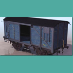 Click to see information about the 'C.I.W.L Boxcar N� 1259 (for 3D Studio Max)'.
