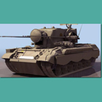 Click to see information about the 'Flackpanzer Gepard (for 3D Studio Max)'.