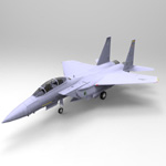 F 15E Strike Eagle (for Wavefront OBJ)