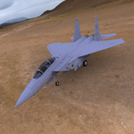 Click to see information about the 'F 15E Strike Eagle (for Wavefront OBJ)'.