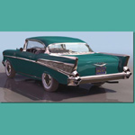 Click to see information about the '1957 Chevy Sport Coupe (for 3D Studio Max)'.