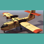 Grumann Canadair Firefighting (for 3D Studio Max)