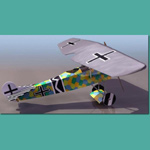 Click to see information about the 'Fokker D.VII (for 3D Studio Max)'.