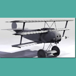 Fokker DR.1 (for 3D Studio Max)