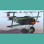 Click to see information about the 'Fokker DR.1 (for 3D Studio Max)'.