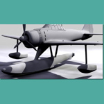 A6M2 N Type2 Rufe (for 3D Studio Max)
