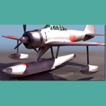 Click to see information about the 'A6M2 N Type2 Rufe (for 3D Studio Max)'.