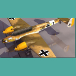 Messerschmitt BF 110 F (for 3D Studio Max)