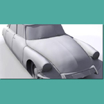 Citroen DS 19 (for 3D Studio Max)