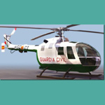 Click to see information about the 'BO 105 (for 3D Studio Max)'.