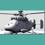 Kamov 25 A Hormone A (for 3D Studio Max)