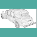 Citroen 15CV (for 3D Studio Max)