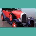 Click to see information about the 'Citroen B14 Torpedo De Luxe (for 3D Studio Max)'.