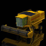 Click to see information about the 'Combine Harvester (for Poser)'.