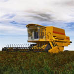 Combine Harvester (for Vue)