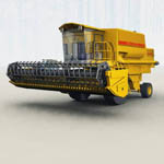 Click to see information about the 'Combine Harvester (for Vue)'.