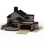 Click to see information about the 'Modern House 2 (for Poser)'.