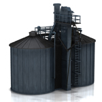 Click to see information about the 'Twin Silo (for Poser)'.