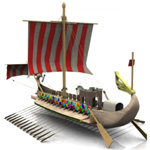 Roman Warship 31 B.C. (for Vue)