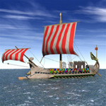 Click to see information about the 'Roman Warship 31 B.C. (for Vue)'.