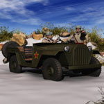 Click to see information about the 'GAZ 67 B (for Poser)'.