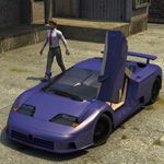 Click to see information about the 'Bugatti EB 110 (for Vue)'.