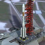 Ariane 4 (for Poser)