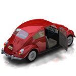 Volkswagen Beetle (for Poser)