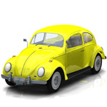 Click to see information about the 'Volkswagen Beetle (for Poser)'.