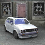 Volkswagen Golf I GTI (for Poser)