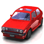Click to see information about the 'Volkswagen Golf I GTI (for Poser)'.