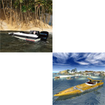 Click to see information about the 'Racing Boat Pack (for Poser)'.