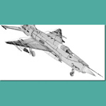 MIG 21 MF Russian Fighter (for 3D Studio Max)