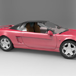 Honda NSX (for 3D Studio Max)
